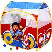 Игровая палатка Машинка + 100 шаров