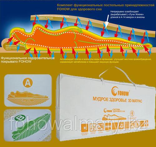 3D матрас с эффектом магнитерапии
