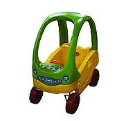 """Детская машинка-каталка """"Coupe Car"""", зеленая"""