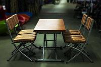 Комплект мебели из МДФ: стол и 4 стула