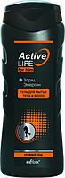 BV Active Life Гель для мытья тела и волос для него Заряд энергии 250 мл