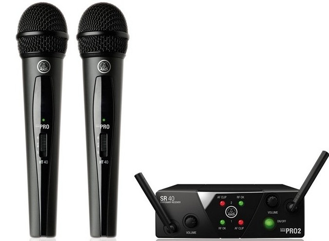 Радиомикрофон AKG WMS 40 MINI 2 VOCAL SET