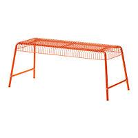 Скамья д/дома/сада ВЭСТЕРОН оранжевый ИКЕА, IKEA, фото 1