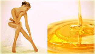 Восковая депиляция и шугаринг - депиляция сахарной пастой