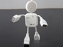 USB HUB разветвитель Человечек на 4 порта