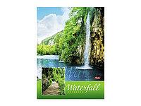 """Бизнес-блокнот """"Водопад"""" А4, 160 листов"""