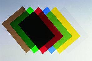Обложки для переплета пластиковые А4, 200 микрон (цветные)