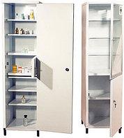 Шкафы медицинские металлически...