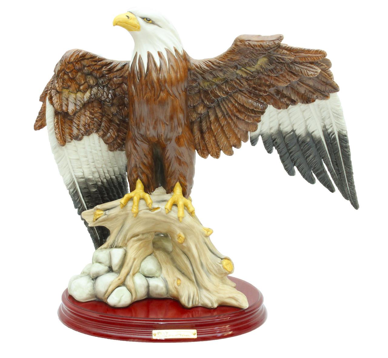Фарфоровая статуэтка Орел. Италия, ручная работа