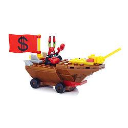 MegaBloks Sponge Mr. Krabs Racer