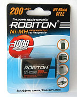 Аккумулятор Robiton 9V 200 mAh-1BL/1 /Крона/