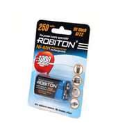 Аккумулятор Robiton 9V 250 mAh-1BL/1 /Крона/