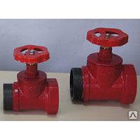 Клапан пожарного крана КПК-50, прямой, чугун, (180 гр.)