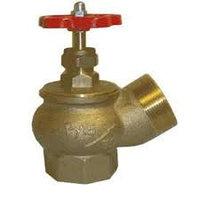 Клапан пожарного крана КПК-65, угловой, латунь, (125 гр.)