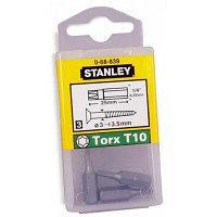"Stanley, 1-68-839, БИТА С ШЕСТИГРАННЫМ ХВОСТОВИКОМ 1/4"" ПОД ШЛИЦ ""TORX"", T10 Х 25 ММ, 25 ШТ.,"