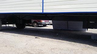 Утепленный вагон на шасси 9 метров для полевого стана 2