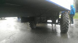 Утепленный вагон на шасси 9 метров для полевого стана 5