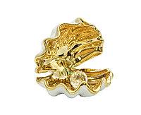 Сувенир Ракушка с жемчужиной. Фарфор, ручная работа, Италия