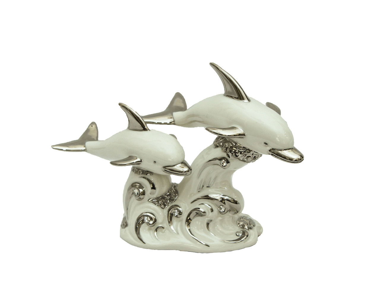 Фарфоровая статуэтка Дельфины. Италия, ручная работа