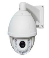Высокоскоростная купольная HD IP камера 2.0Мп, 22X кратный оптический зум, ИК подсветка 150 метров
