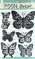 """Набор наклеек """"Бабочки"""" 3D, фото 1"""