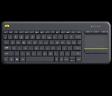 Logitech 920-007147 K400 Plus Клавиатура беспроводная Touch Keyboard