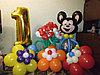 Фигуры из шаров в Павлодаре (Оформление дня рождения)