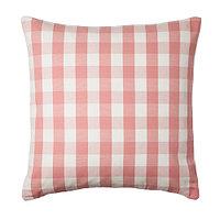 Чехол на подушку 50х50 СМОНАТЕ розовый IKEA, ИКЕА, фото 1