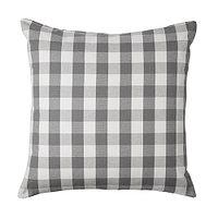 Чехол на подушку 50х50 СМОНАТЕ серый ИКЕА, IKEA , фото 1