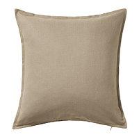 Чехол на подушку 50х50 ГУРЛИ бежевый ИКЕА, IKEA