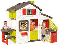Домик игровой для друзей Smoby с кухней