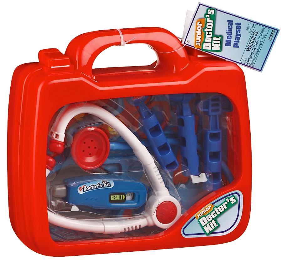 Keenway Игровой набор доктора Doctors Kit в чемоданчике (звук), 10 предметов