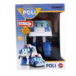 Robocar Poli Робот-трансформер - Поли, 10 см. Робокар Поли