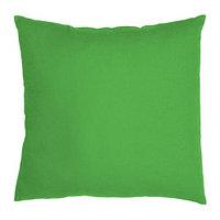 Подушка 50х50 ВАЛЬБЬЁРГ зеленый ИКЕА, IKEA