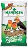 Manitoba корм для средних попугаев, 1000г
