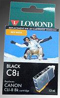 CLI-8BK Lomond (без чипа) for Canon PIXMA MP800/MP500/iP6600D/iP5200 L0202332