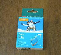 CLI-8C Lomond\ Exen (без чипа) for Canon PIXMA MP800/MP500/iP6600D L0202333