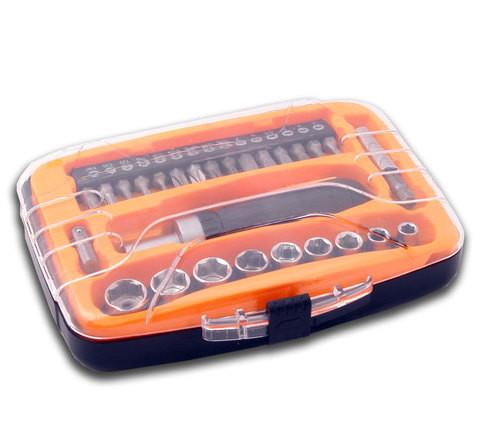 Отвертка с набором бит и насадок  GQ-434