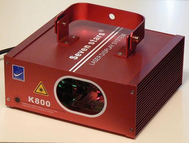 Лазер Big Dipper K 800 красный + зеленый