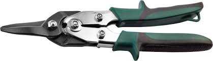 "(2324-S_z01) Ножницы KRAFTOOL ""UNIVERSAL"" по металлу, Cr-Mo, прямой рез, 260мм"