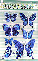 "Наклейки ""Бабочки"" 3D , фото 1"