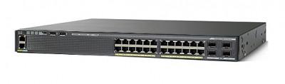 Cisco WS-C2960X-24TD-L коммутатор Catalyst 2960-X 24 GigE  2 x 10G SFP+  LAN Base