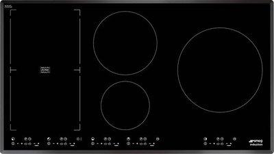 Встраиваемая поверхность индукционная на 90см SMEG SIM91B
