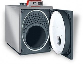 Unical модель Ellprex 1570 кВт, котел отопления водогрейный на дизельном и газовом топливе пр-во Италия