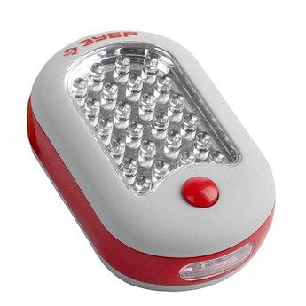 (61810) Фонарь светодиодный ЗУБР, 27 LED, магнит, крючок для подвеса, 3ААА
