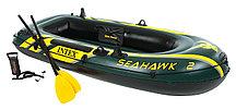 Надувная 2-х местная лодка SeaHawk 2 Set 68347