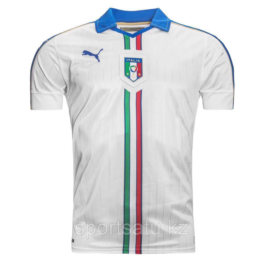 Сборная Италия гостевая футбольная форма игровая 2016