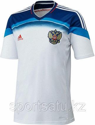 Сборная Россия клубная футбольная форма аутентичная ЧМ 2014 гостевая