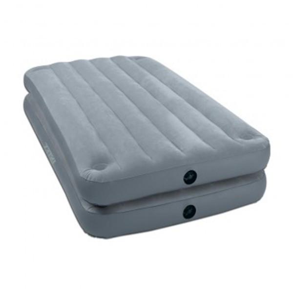 Кровать надувная односпальная 2 в 1 99*191*46 см (без насоса) 67743
