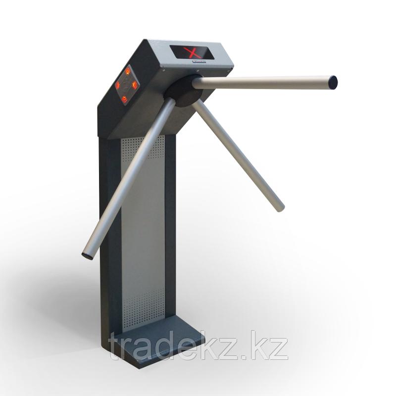 Турникет электромеханический трипод со встроенными считывателями STRAZH 02